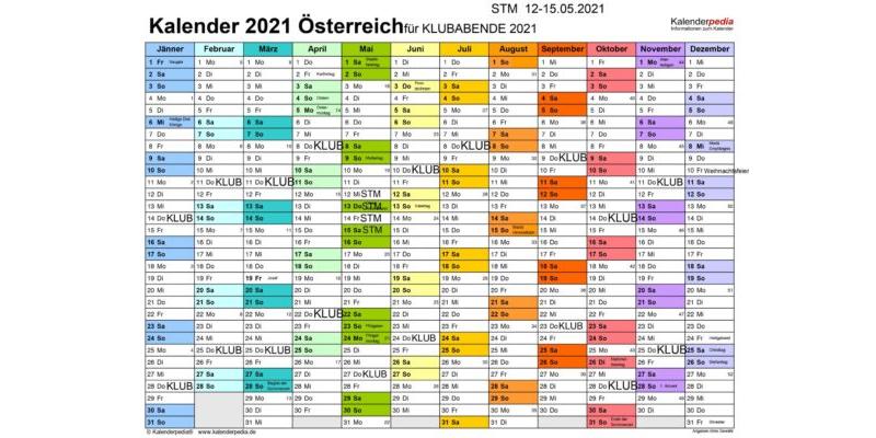 Filmklub Kalender 2021